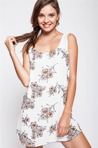 שמלת ספרינג לבנה
