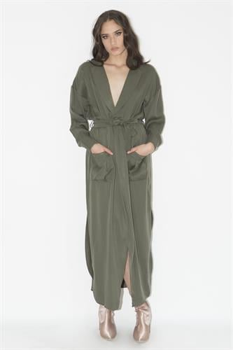 שמלת ננסי ירוקה
