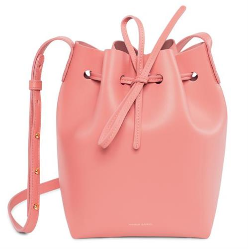 MINI BUCKET BAG BLUSH