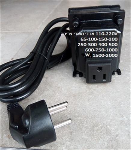 שנאי חשמל 110 ל 220 200W