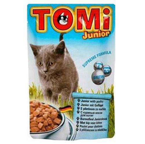 טומי פאוץ' מעדן עוף לחתלתולים