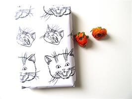נייר עטיפה - איור חתולים