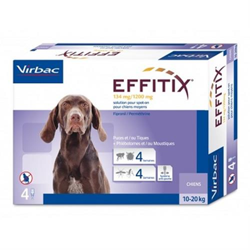 """אפיטיקס Effitix Virbac למשקל 20-10 ק""""ג"""