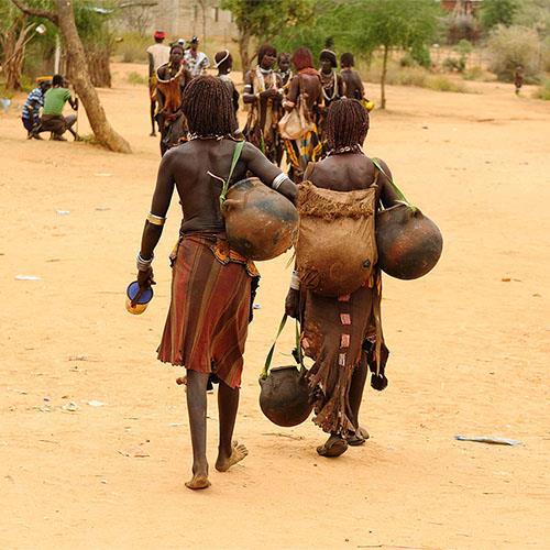 אתיופיה - משבטי עמק האומו בדרום אל ארון הברית בצפון