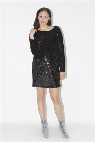 שמלת איימי שחורה