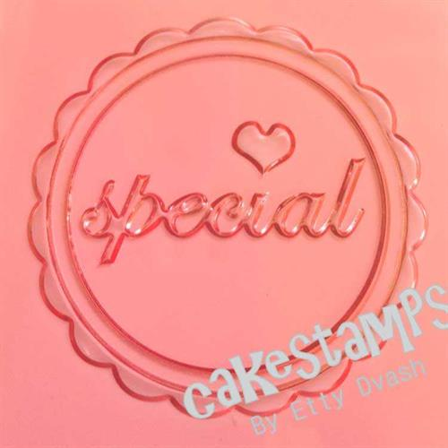 SPECIAL EMBOSSED STAMP