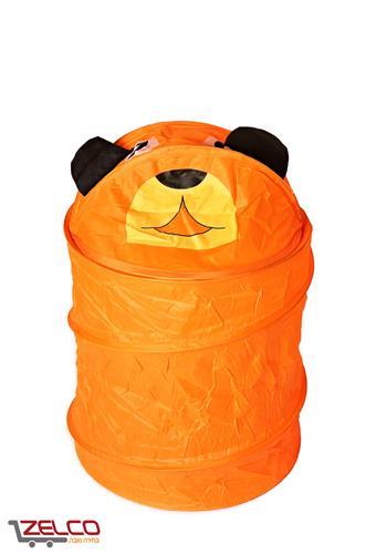 סל אחסון גמיש - דגם דובי כתום