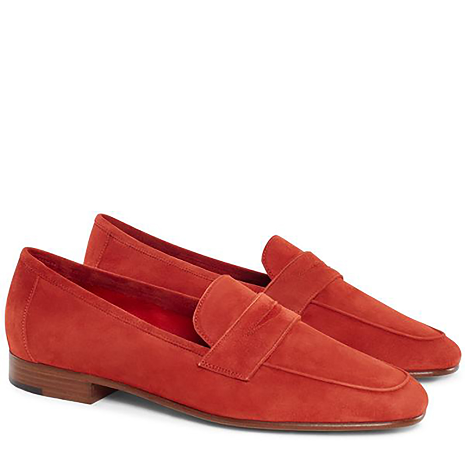 CLASSIC LOAFER SUEDE BRICK