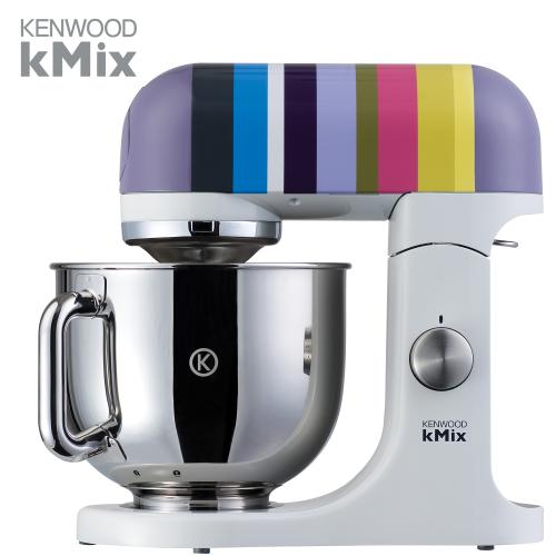 KENWOOD מיקסר kMix בסדרה פסים צבעונית + חבילת VIP דגם: KMX-80