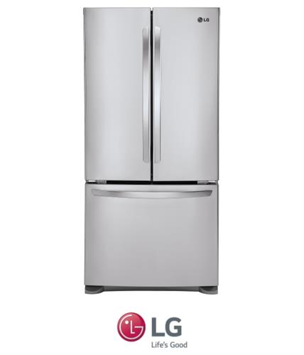 LG מקרר 3 דלתות 678 ליטר  דגם GRB-240RSA/RWA