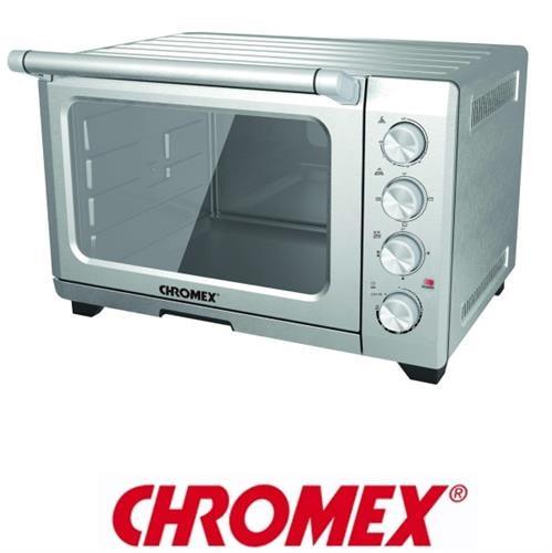 CHROMEX מיני תנור נירוסטה עם טורבו דגם: TO-3355 מתצוגה !