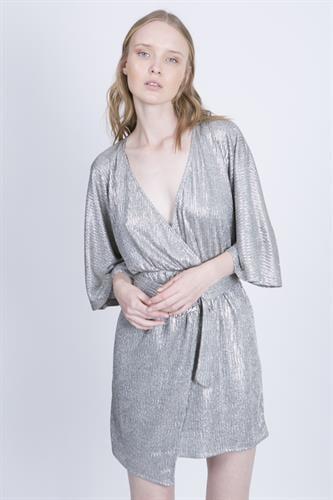 שמלת מייגן כסף