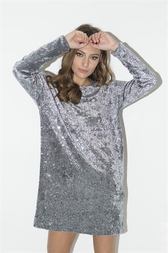 שמלת איימי אפורה