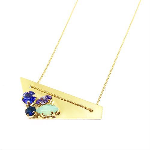שרשרת רוז זהב כחול