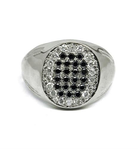 טבעת יהלומים לגבר, טבעת לגבר בזהב 14K