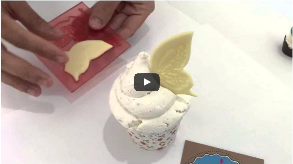 How to! Chocolate Butterfly Wings