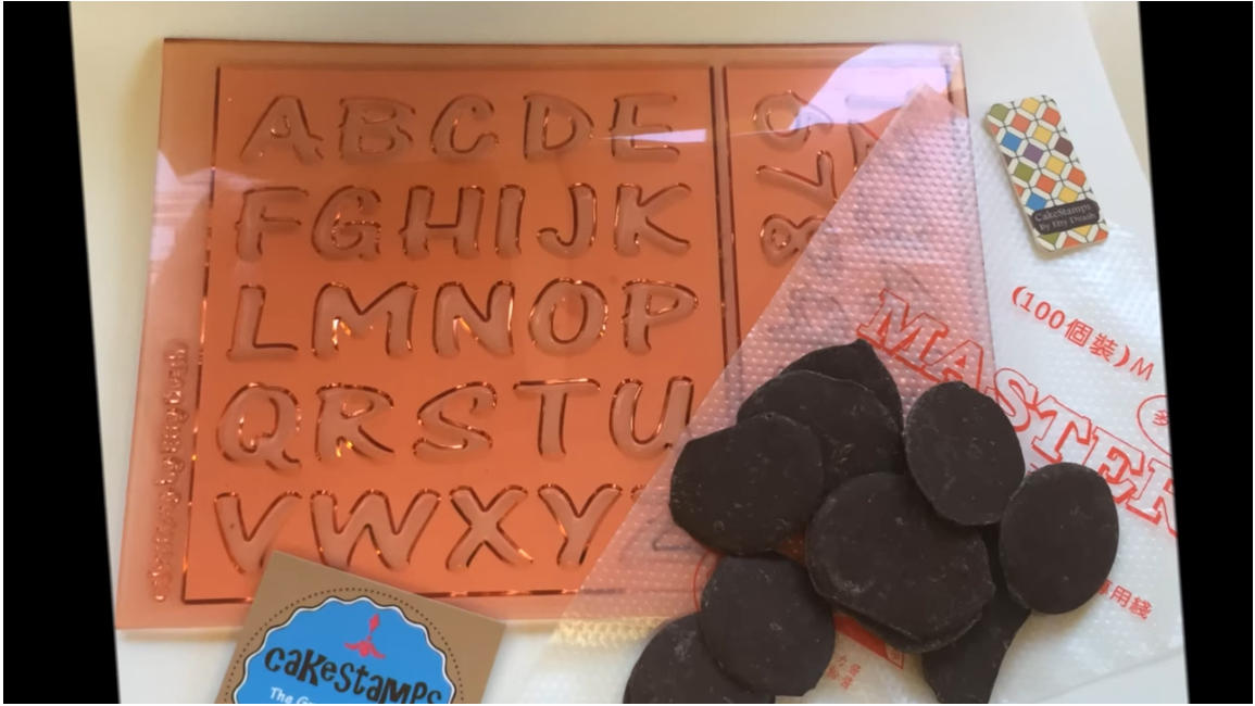 How to: Simple way for best chocolate Alphabet letters